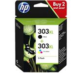 INKCARTRIDGE HP 3YN10AE 303XL ZWART + KLEUREN