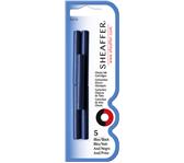 INKTPATROON SHEAFFER SKRIP CLASSIC BLAUW/ZWART