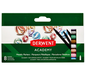 VILTSTIFT DERWENT ACADEMY METALLIC ASS