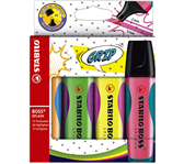MARKEERSTIFT STABILO BOSS SPLASH 75/4 ASS