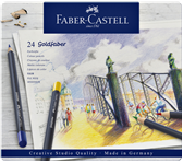 KLEURPOTLOOD FABER CASTELL GOLDFABER ASS