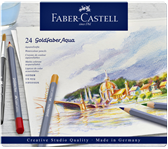 KLEURPOTLOOD FABER CASTELL GOLDFABER AQUAREL ASS