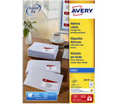 ETIKET AVERY J8159-100 63.5X33.9MM 2400ST