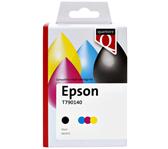 INKCARTRIDGE QUANTORE EPSON T790140 HC ZWART