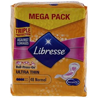 MAANDVERBAND LIBRESSE ULTRA NORMAL 48 STUKS