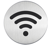 INFOBORD PICTOGRAM DURABLE WIFI ROND 83MM