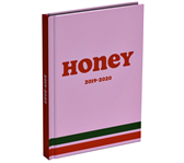 SCHOOLAGENDA 2019-2020 HONEY 125X177MM