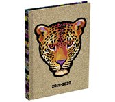 SCHOOLAGENDA 2019-2020 WILD BUT CUTE 132X177MM