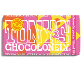 TONY'S CHOCOLONELY BLOND 28% PECAN 180GR