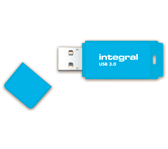 USB-STICK INTEGRAL 64GB 3.0 NEON BLAUW