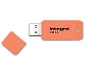 USB-STICK INTEGRAL 64GB 3.0 NEON ORANJE