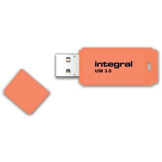 USB-STICK INTEGRAL 64GB 3.0 NEON ORANJE