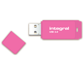 USB-STICK INTEGRAL 64GB 3.0 NEON ROZE