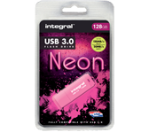 USB-STICK INTEGRAL 128GB 3.0 NEON ROZE