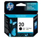 INKCARTRIDGE HP 20 C6614D ZWART