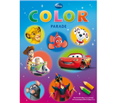 KLEURBOEK DELTAS DISNEY COLOR PARADE FILMFIGUREN