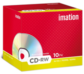 CD-RW IMATION 700MB 4X10 SHOWBOX