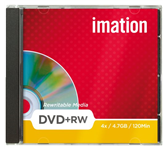 DVD+RW IMATION 4.7GB 4X SHOWBOX