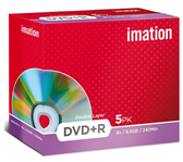 DVD+R IMATION 8.5GB 8X DOUBLE LAYER SHOWBOX
