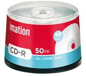 CD-R IMATION 700MB 52X PRINTABLE SPINDEL