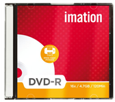 DVD-R IMATION 4.7GB 16X PRINTABLE SLIMLINE