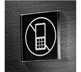 INFOBORD PICTOGRAM SIGEL MOBIEL VERBODEN 85X85X85MM