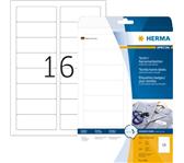 ETIKET HERMA 4420 NAAM/TEXTIEL 88.9X33.8MM 400ST WT