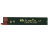 POTLOODSTIFT FABER CASTELL 0.5MM 2B