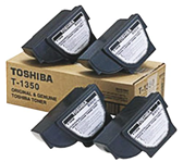 TONERCARTRIDGE TOSHIBA T-1350E 4.3K ZWART