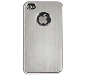 HOES CASE IPHONE 4/4S ALUMINIUM FINISH GRIJS