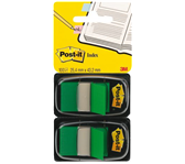 INDEXTABS 3M POST-IT 6802GRE MEDIUM GROEN