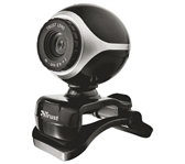 WEBCAM TRUST TRINO HD 720P ZWART