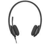 HEADSET LOGITECH H340 ON EAR USB ZWART