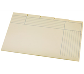 BINNENMAP A6200-5 5DLG KARTON CHAMOIS