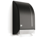 DISPENSER SATINO BLACK VOUWHANDDOEK