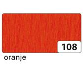 CREPEPAPIER FOLIA 250X50CM NR108 DONKERORANJE