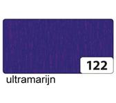 CREPEPAPIER FOLIA 250X50CM NR122 ULTRAMARIJN
