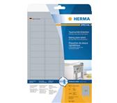 ETIKET HERMA 4221 45.7X21.2MM ZILVER 1200ST