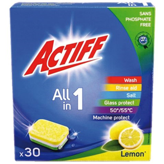 VAATWASTABLET ACTIFF ALL-IN 1