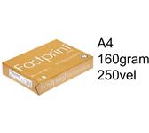 KOPIEERPAPIER FASTPRINT GOLD A4 160GR WIT