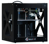 3D PRINTER BUILDER DUAL INCL DISPLAY ZWART