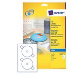ETIKET AVERY CD C9660-25 HOOGGLANS 50ST