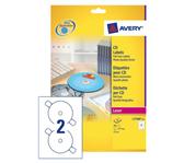 ETIKET AVERY CD L7760-25 LASER HOOGGLANS 50ST