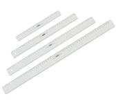 LINIAAL M&R 1130/000 PLASTIC 30CM TRANSPARANT