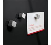 GLAS-MAGNEETBORD SIGEL 300X300X15MM ZWART