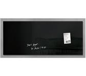 GLASBORD SIGEL MAGNEET 1300X550X15MM ZWART