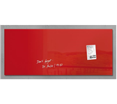 GLASBORD SIGEL MAGNEET 1300X550X15MM ROOD