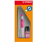 ROLLERPEN STABILO EASY LINKS METALLIC NEON ROZE