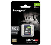 GEHEUGENKAART INTEGRAL SDHC 8GB CL10