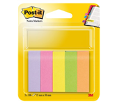 INDEXTABS 3M POST-IT 670/5 15X50MM ULTRA
